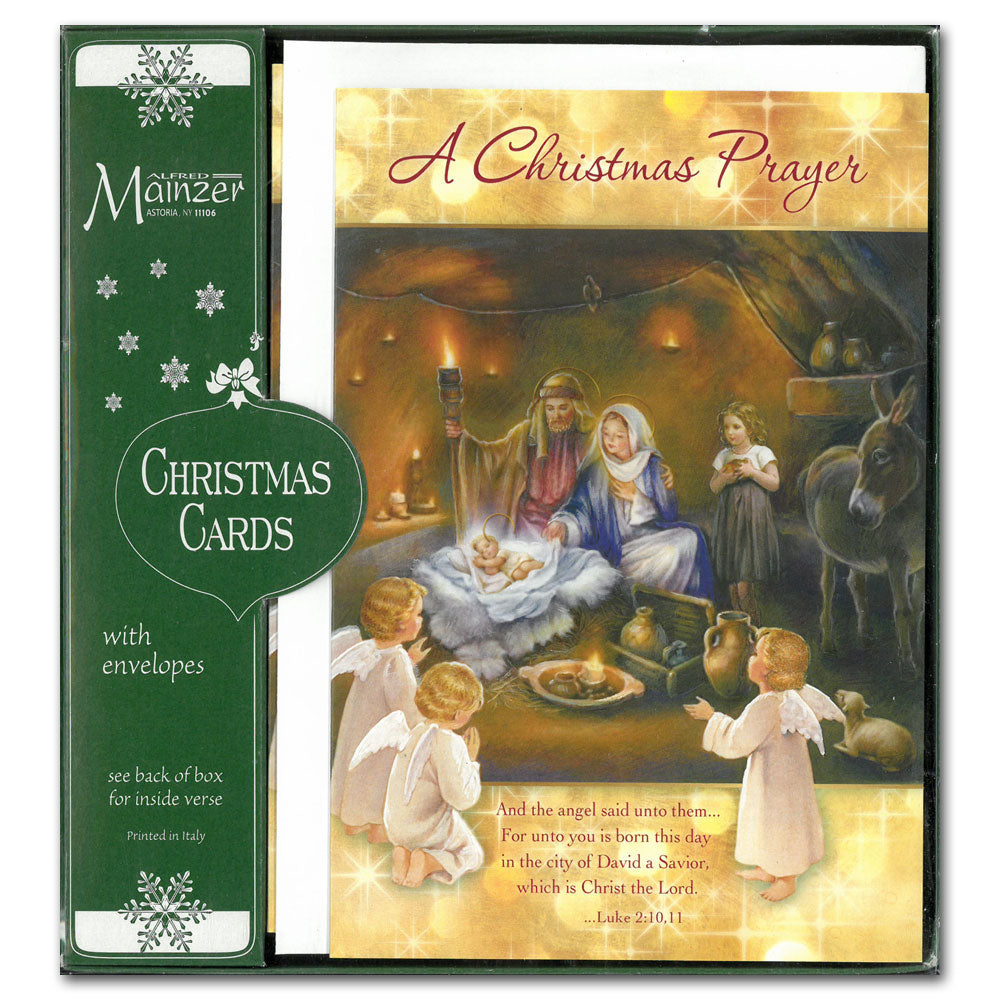 A Christmas Prayer – Mary Immaculate Queen Center