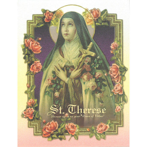 St. Therese Note Card