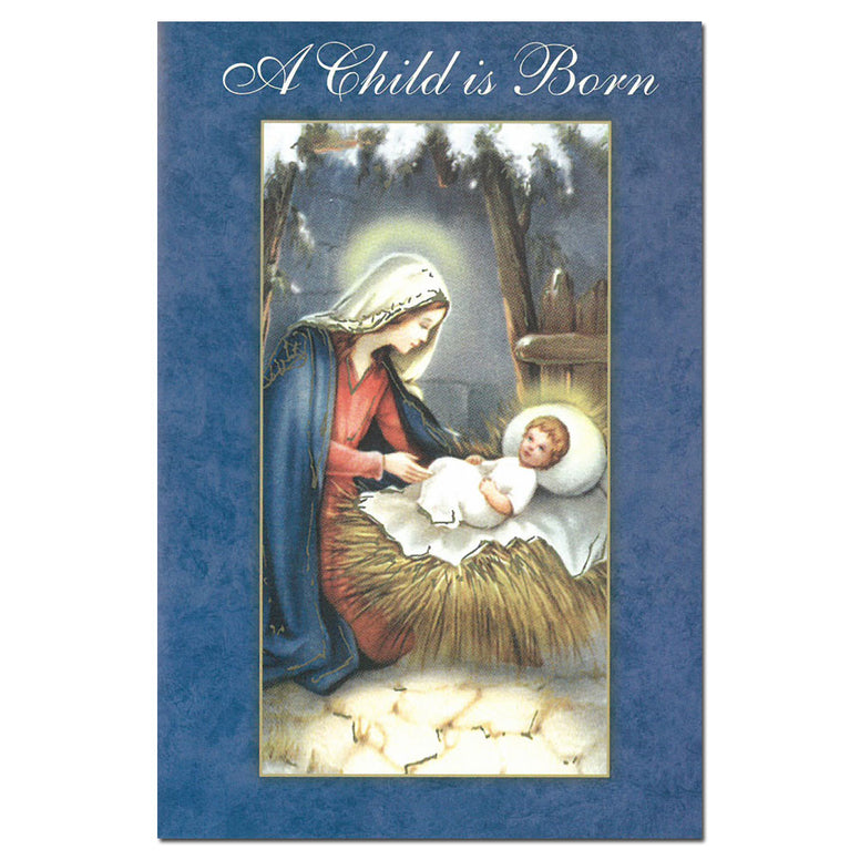 A Child is Born Christmas Cards: 15pk