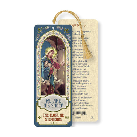 Laminated Bookmark: Good Shepherd
