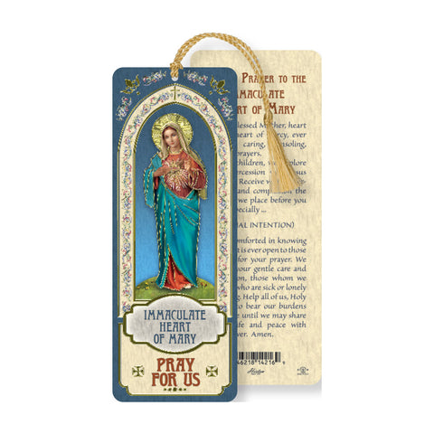 Laminated Bookmark: Immaculate Heart of Mary