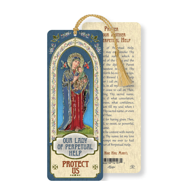 Laminated Bookmark: Our Lady of Perpetual Help