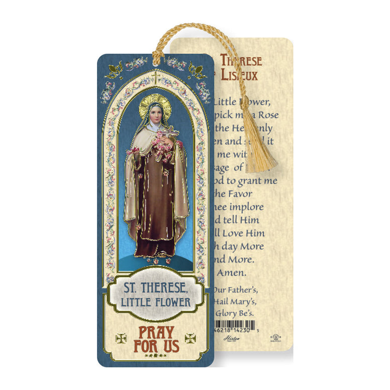Laminated Bookmark: St. Therese