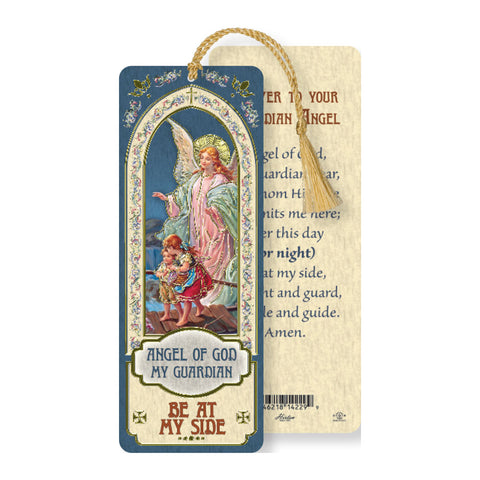 Laminated Bookmark: Guardian Angel