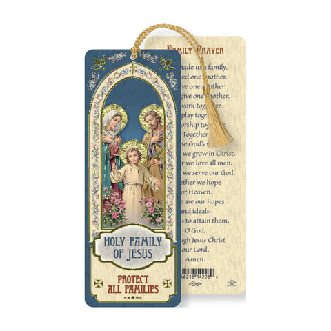 Laminated Bookmark: Holy Family