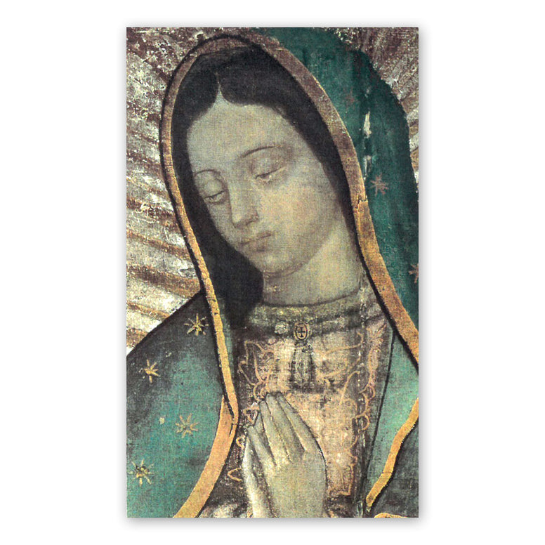 Our Lady of Guadalupe with Message