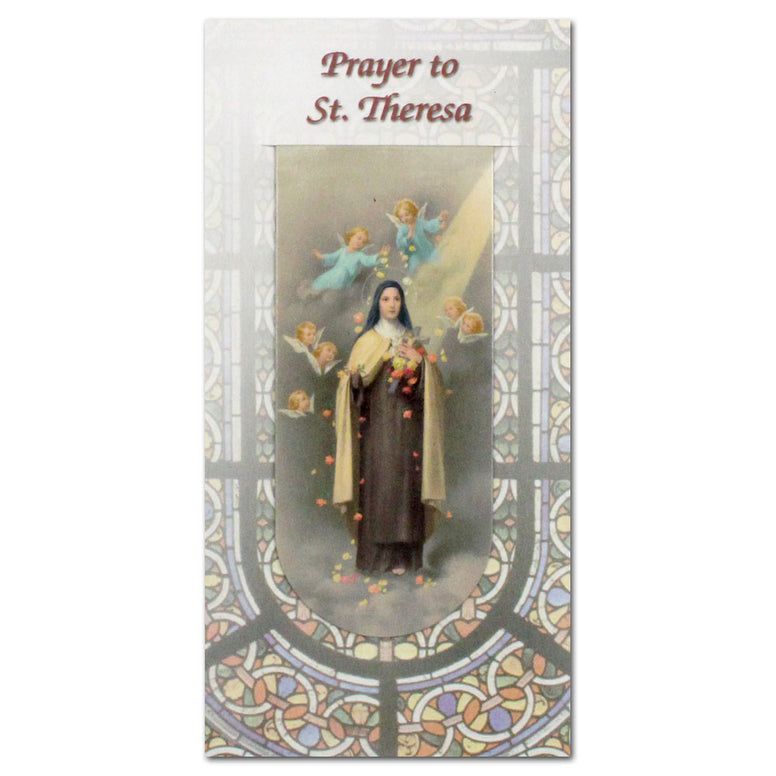 Magnetic Bookmark: St. Theresa