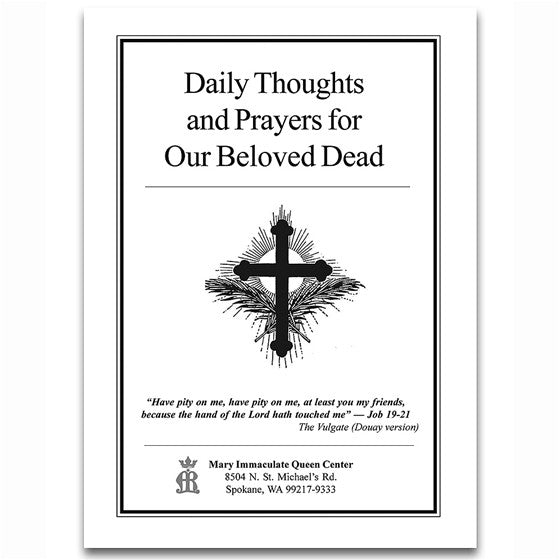 Daily Thoughts and Prayers for Our Beloved Dead