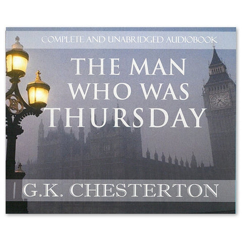 The Man Who Was Thursday - G.K. Chesterton: Audio Book