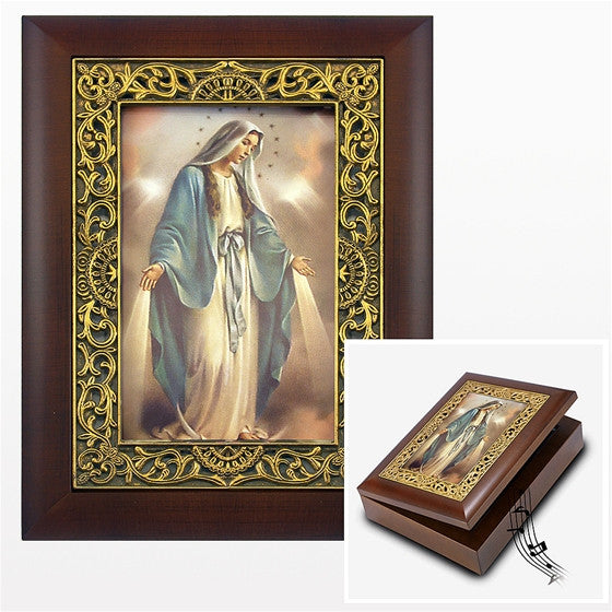 Our Lady of Grace Music Box