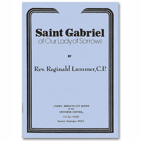 Saint Gabriel of Our Lady of Sorrows: Lummer