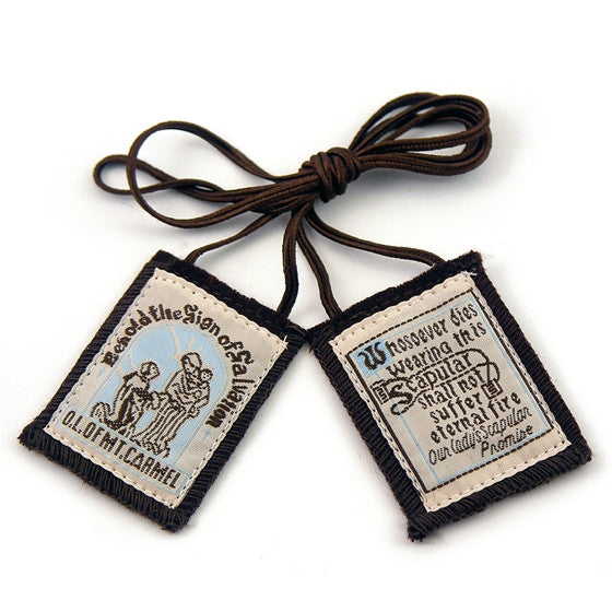 Best Brown Scapular-brown cord