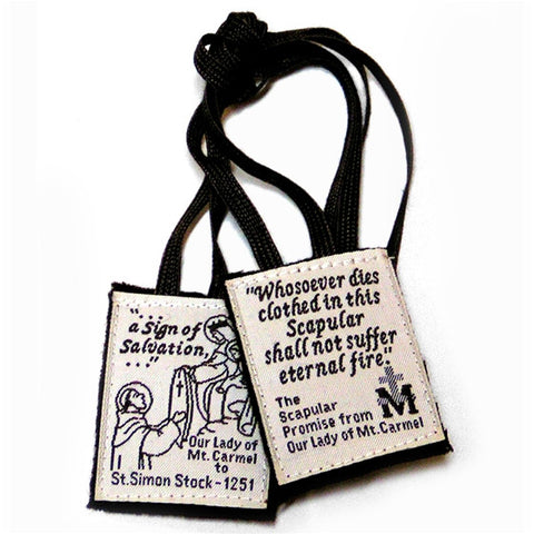 Basic Brown Scapular