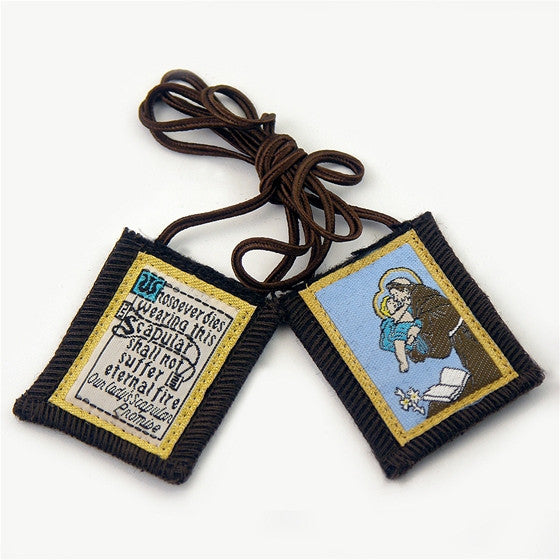 Brown Scapular - St. Anthony