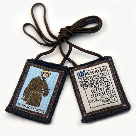 Brown Scapular - St. Francis