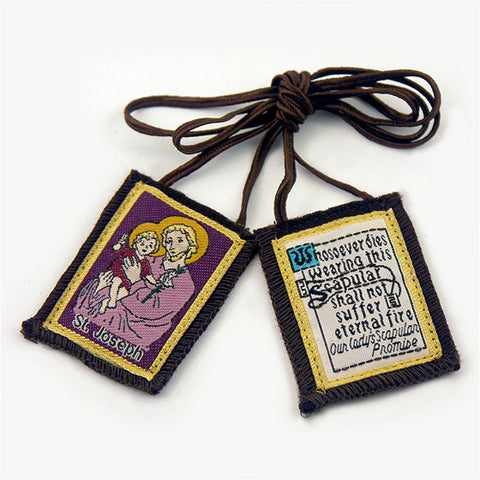 Brown Scapular - St. Joseph