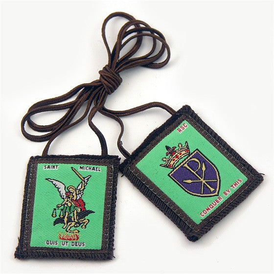 Brown Scapular - St. Michael