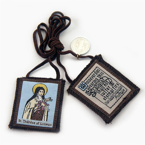 Brown Scapular - St. Therese