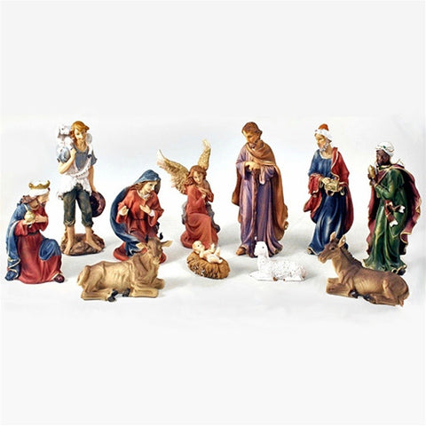 "Traditional 8"" Nativity Scene"