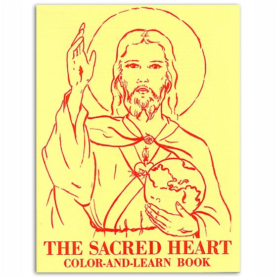 Sacred Heart Coloring Book