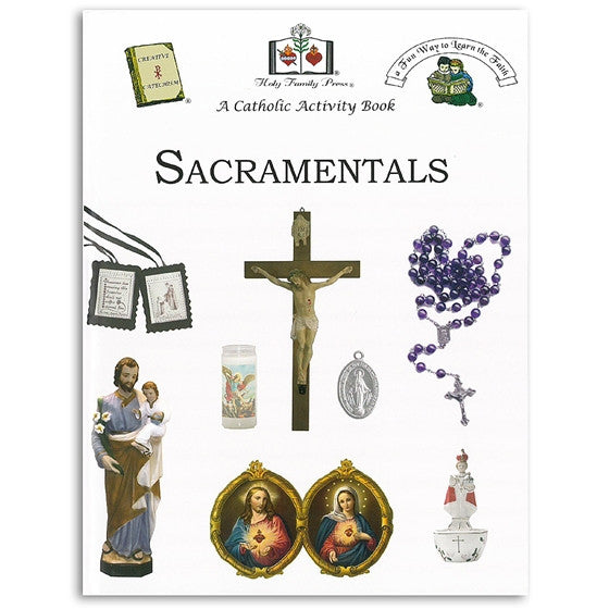 Sacramentals Activity Book