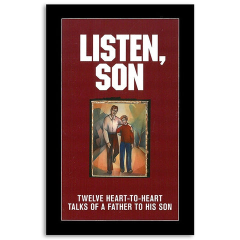 Listen Son: 12 Heart-to-Heart Talks