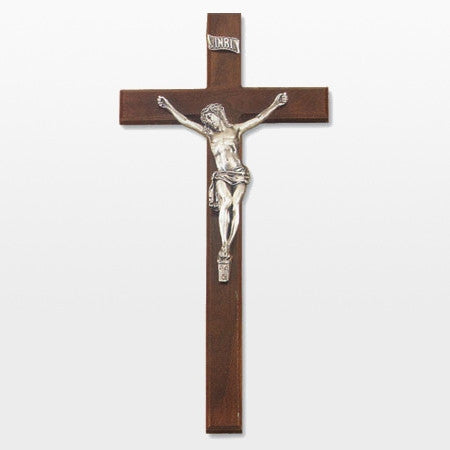 "27"" Walnut Crucifix"