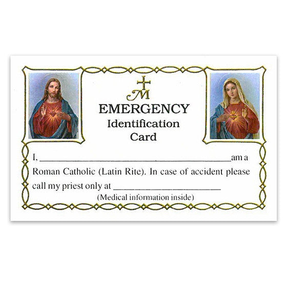 Emergency Identity Card