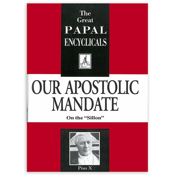 Our Apostolic Mandate: On the Sillon
