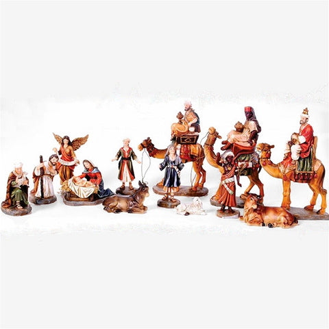 "8"" Nativity Set with Camels"