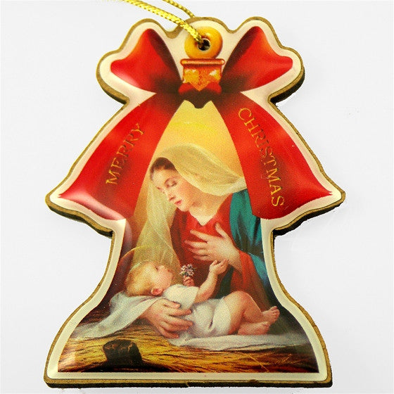 Madonna and Child Bell Ornament