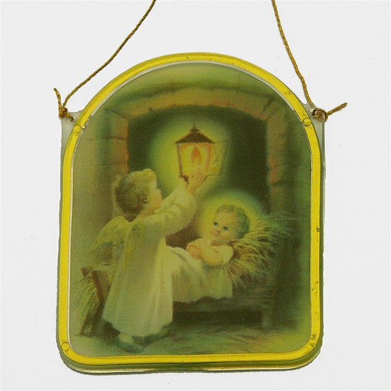 Angel with Baby Jesus Ornament