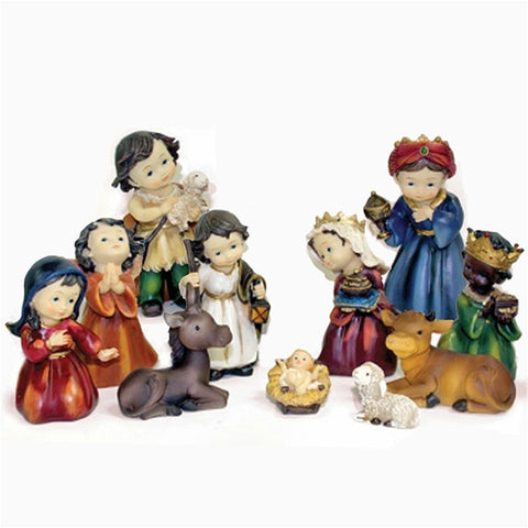"5.5"" Children Nativity Set"