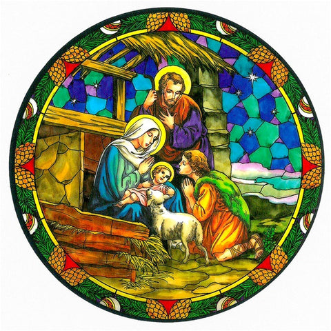 Nativity Static Sticker