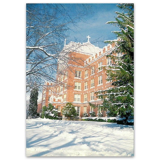 Mt. St. Michael: Winter Scene - Postcard