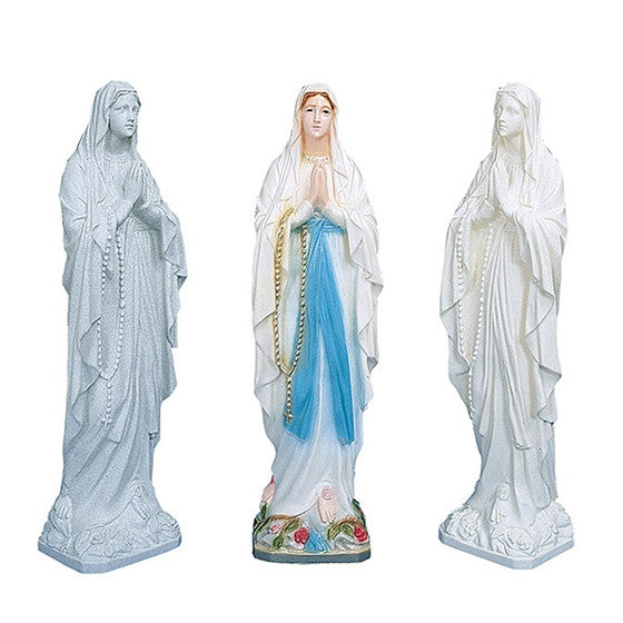Our Lady of Lourdes: 24""