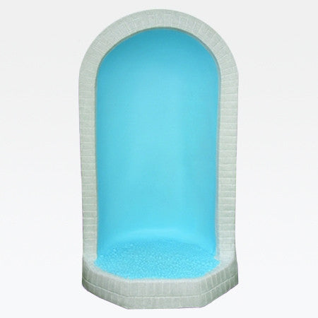 "Grotto for 24"" Statues - Blue & Granite"