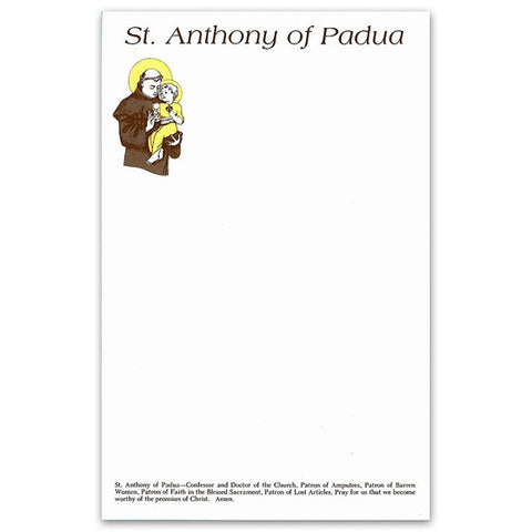 St. Anthony Stationery
