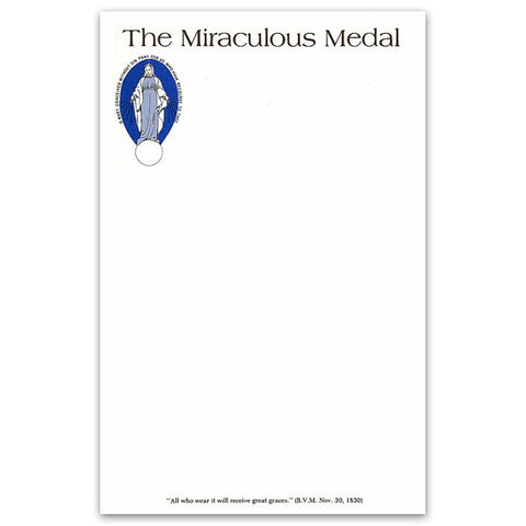 Miraculous Medal Stationery