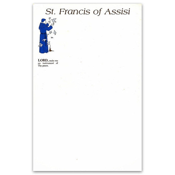 St. Francis Stationery - Tablet