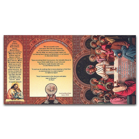 First Communion/Last Supper Note Card