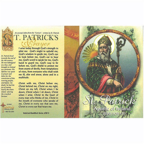 St. Patrick Note Card