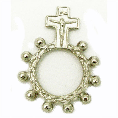 Our Lady of Grace Rosary Ring
