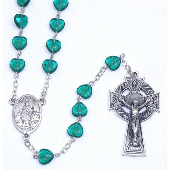 Emerald Heart Rosary