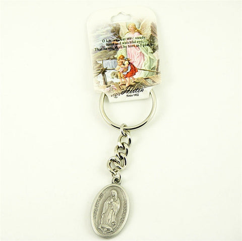 Our Lady of Guadalupe Key Ring