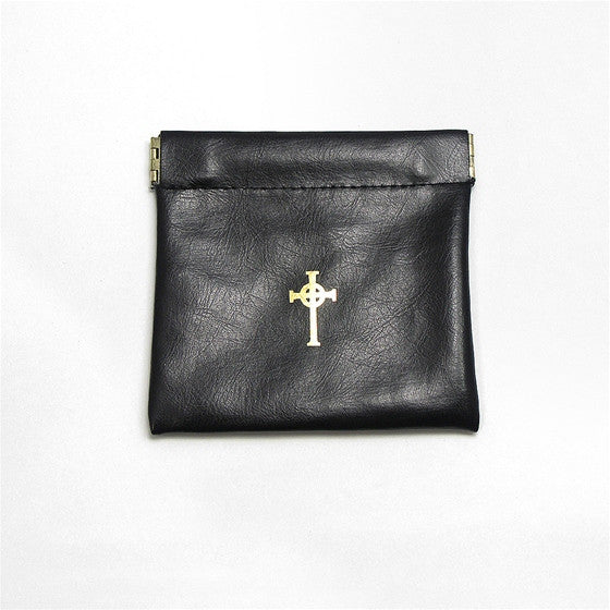 Large Spring Close Rosary Case