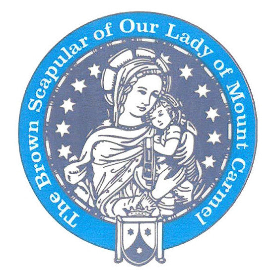 Our Lady of Mt Carmel Decal