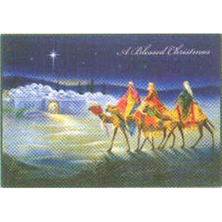 A Blessed Christmas: Wise Men 16/pk
