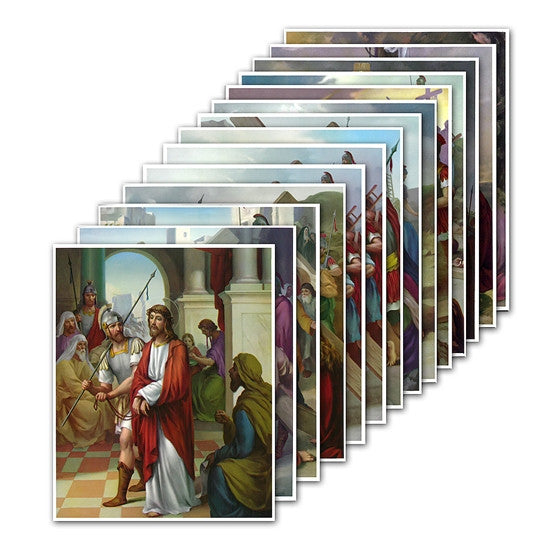 6x8 Stations of the Cross Prints