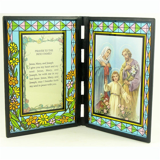 Holy Family Stained Glass Stand